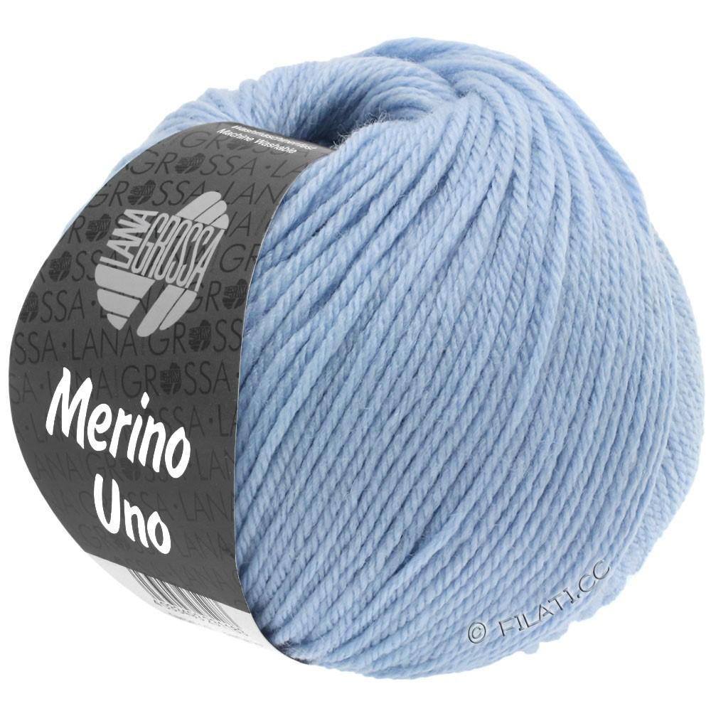 MERINO UNO - von Lana Grossa | 08-Hellblau
