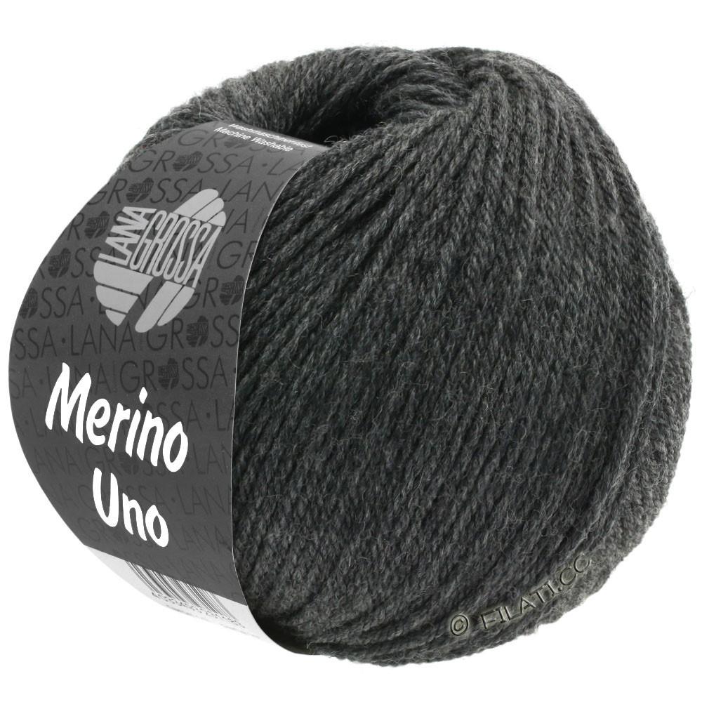 MERINO UNO - von Lana Grossa | 11-Dunkelgrau