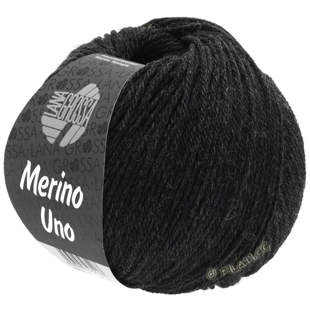 MERINO UNO - von Lana Grossa | 12-Anthrazit