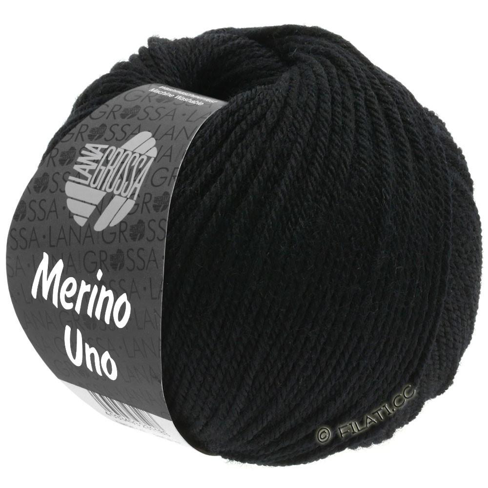 MERINO UNO - von Lana Grossa | 13-Schwarz