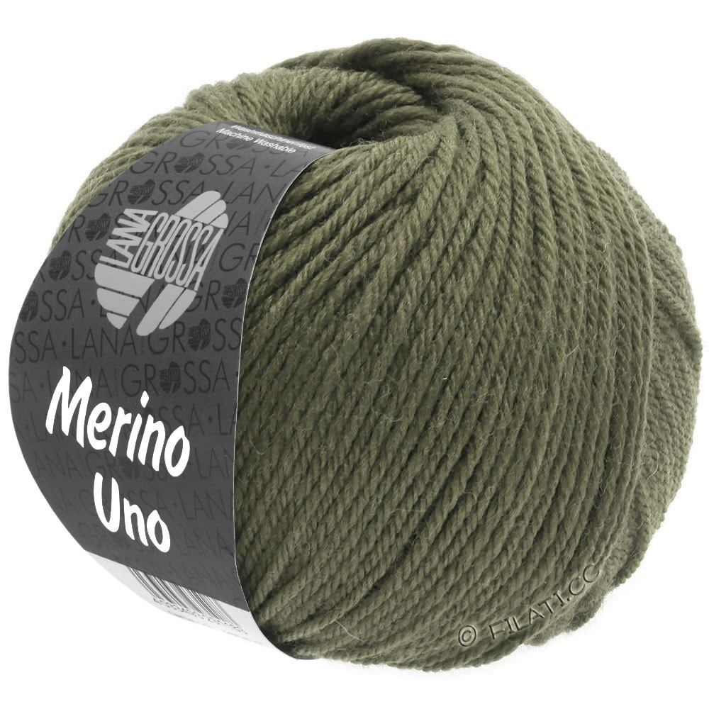 MERINO UNO - von Lana Grossa | 19-Grüngrau