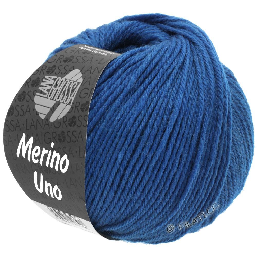 MERINO UNO - von Lana Grossa | 24-Enzianblau