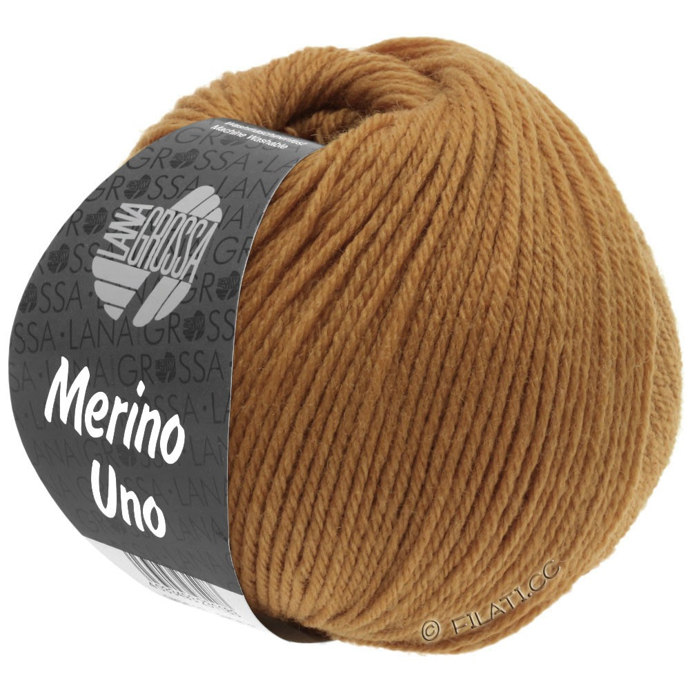 MERINO UNO - von Lana Grossa | 33-Karamell