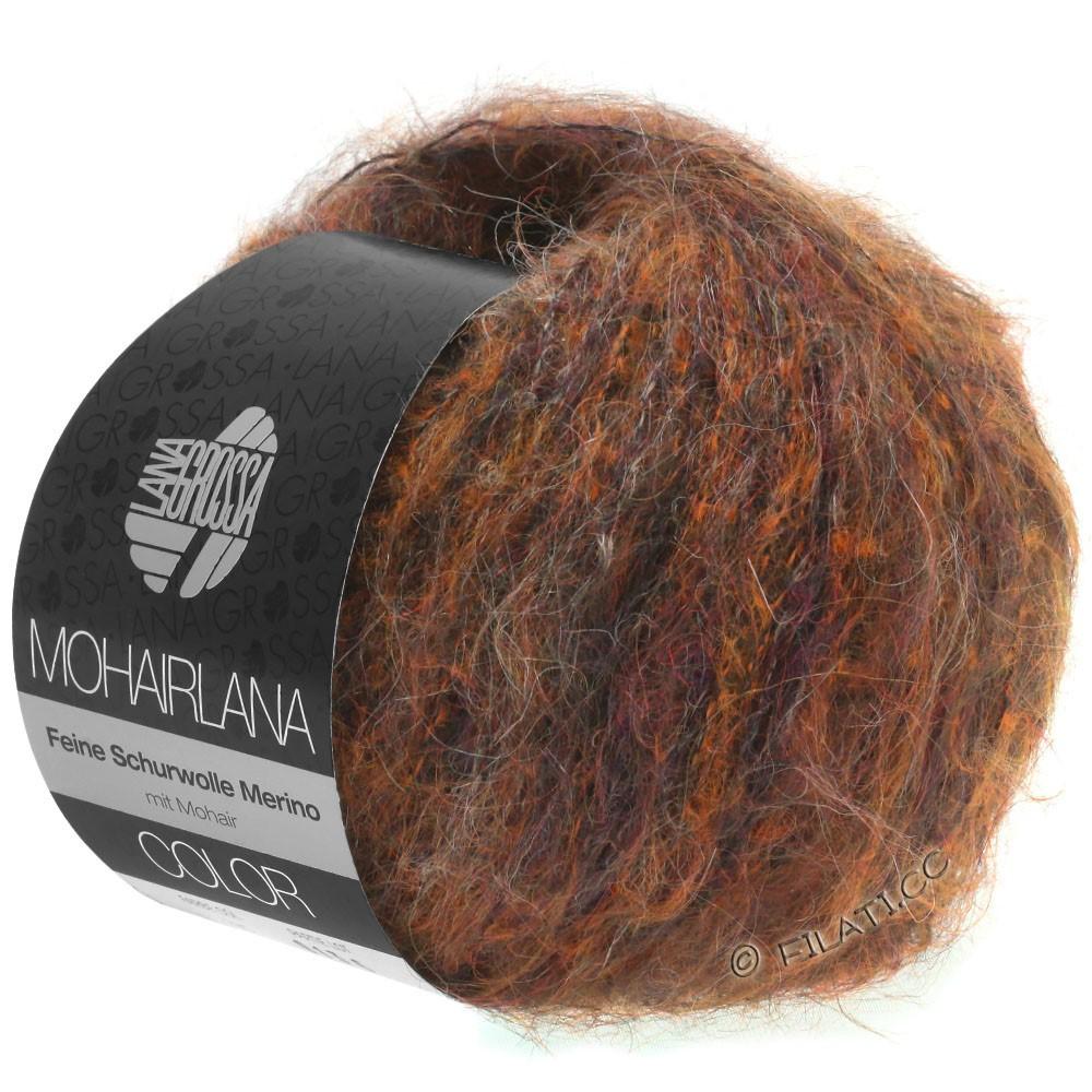 MOHAIRLANA COLOR - von Lana Grossa | 102-Kupfer/Dunkelbraun