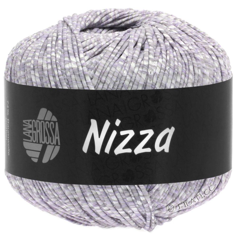 NIZZA - von Lana Grossa | 02-Weiß/Zartlila/Silber
