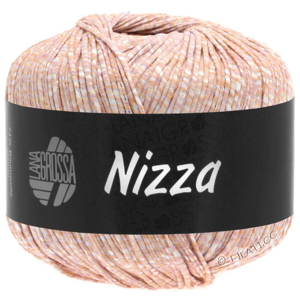 NIZZA - von Lana Grossa | 03-Weiß/Pfirsich/Kupfer