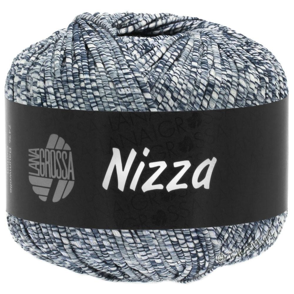 NIZZA - von Lana Grossa | 05-Weiß/Jeans/Silber
