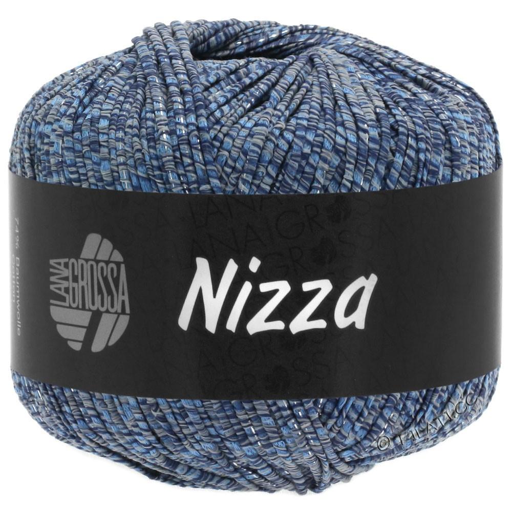 NIZZA - von Lana Grossa | 06-Graublau/Marine/Silber