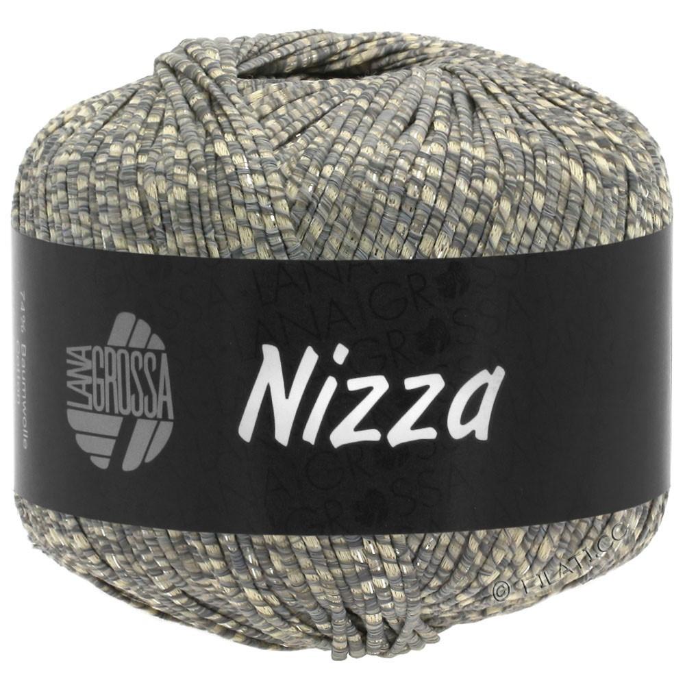 NIZZA - von Lana Grossa | 08-Beige/Grau/Silber