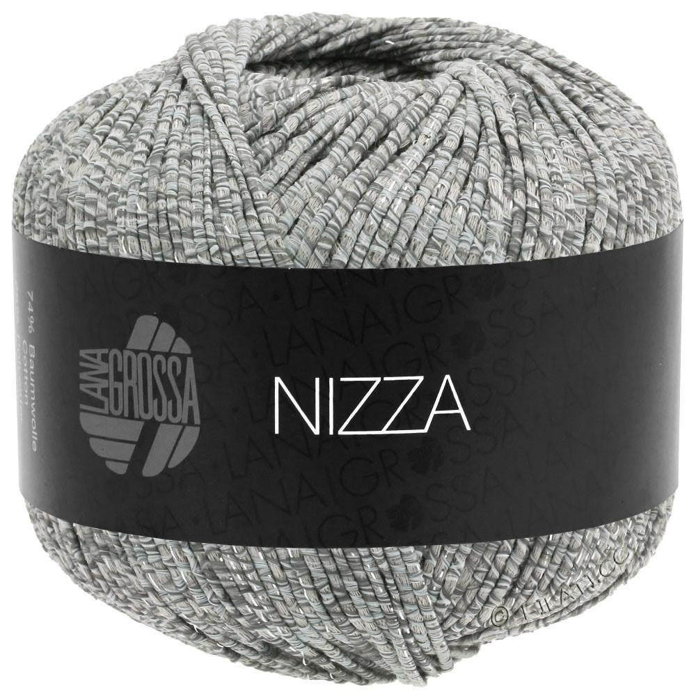 NIZZA - von Lana Grossa | 13-Weiß/Grau/Beige/Silber