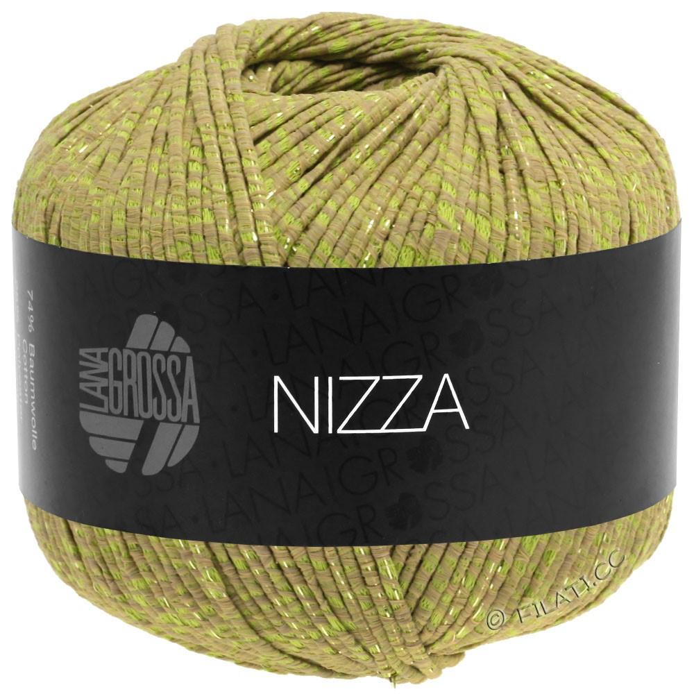 NIZZA - von Lana Grossa | 14-Camel/Gelbgrün/Gold
