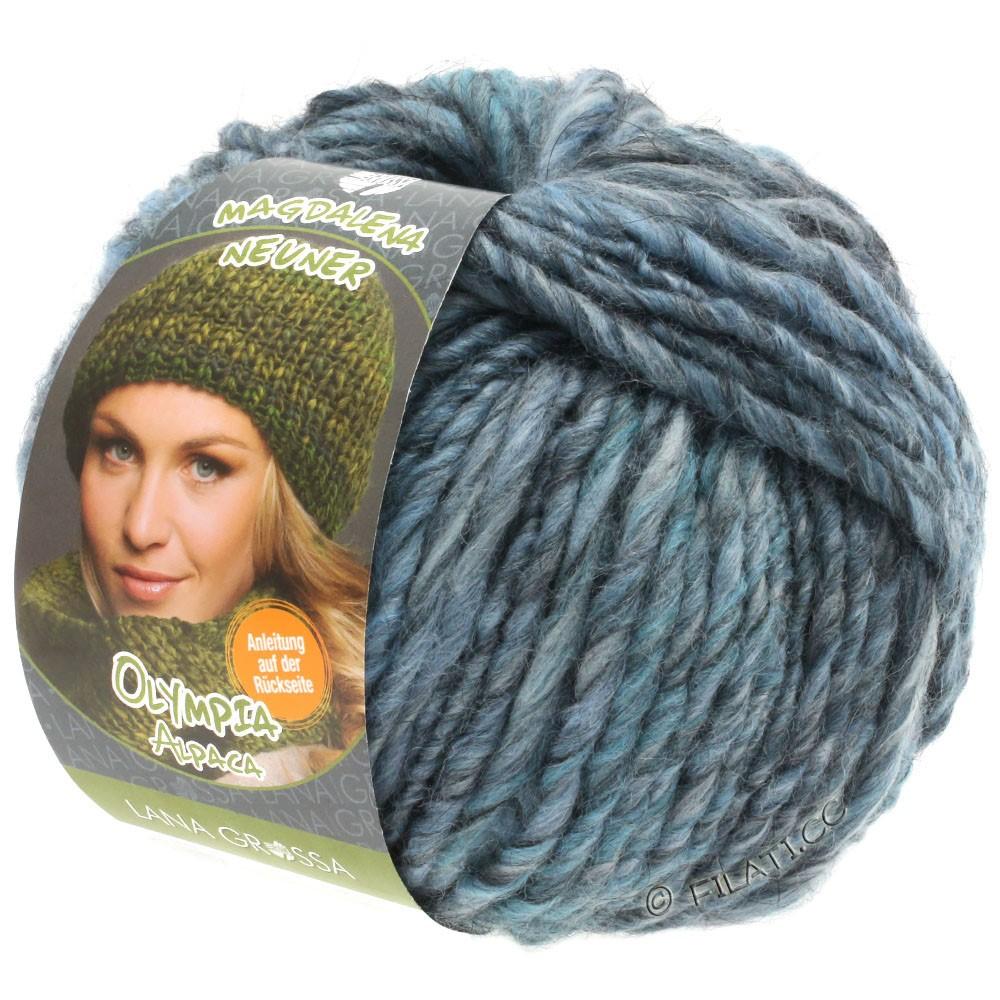 OLYMPIA Alpaca - von Lana Grossa | 901-Hellblau/Graublau/Jeans meliert