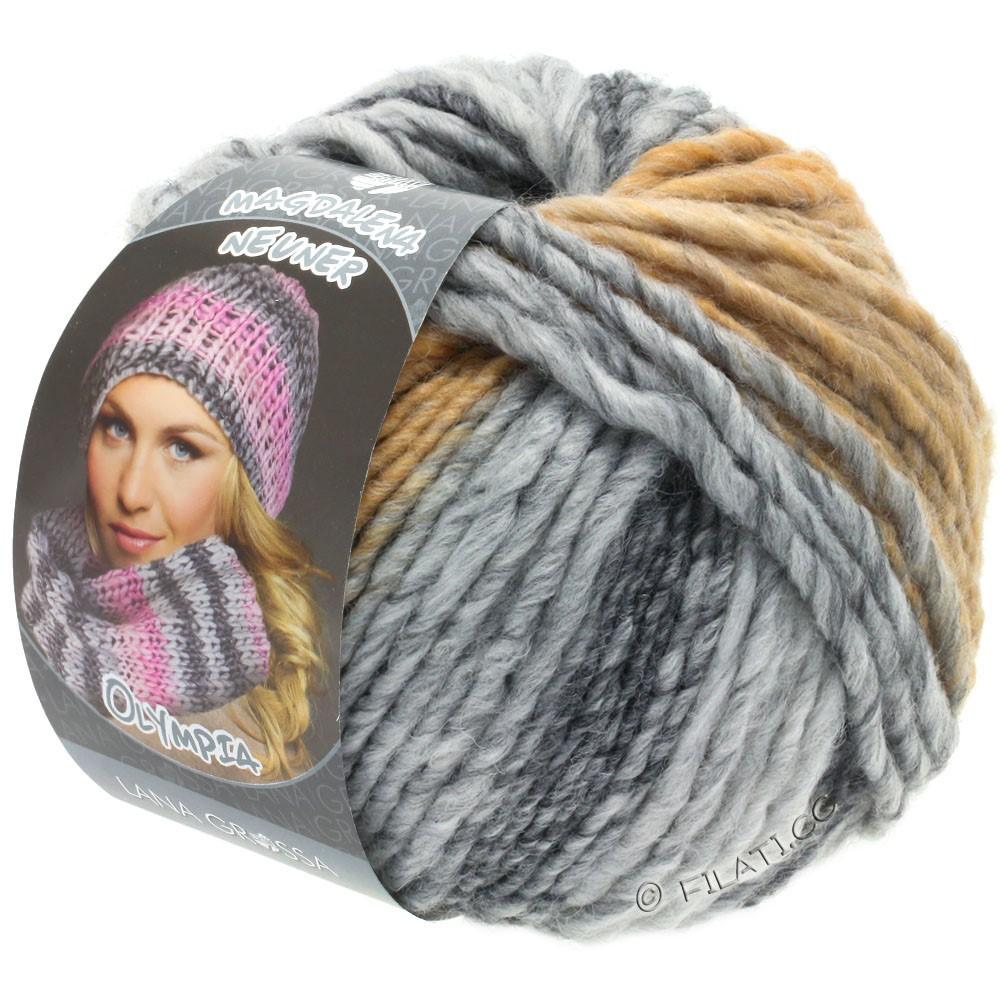 OLYMPIA Grey - von Lana Grossa | 806-Dunkelgrau/Hellgrau/Zartgrau/Beige/Camel