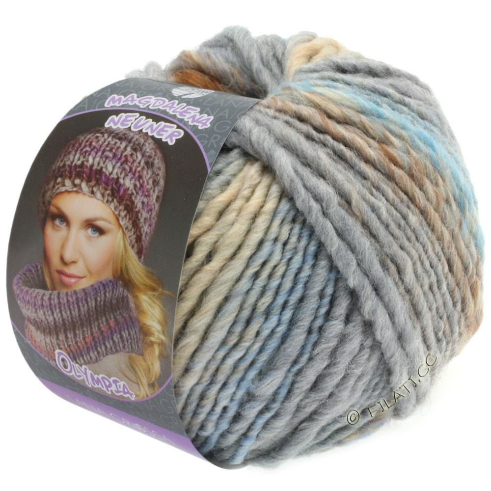 OLYMPIA Pastello - von Lana Grossa | 606-Beige/Camel/Taupe/Mint/Hellblau/Grau