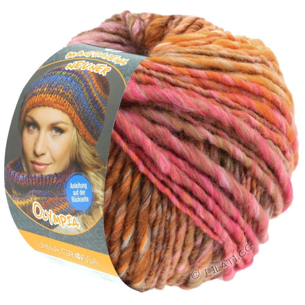 OLYMPIA Classic - von Lana Grossa   069-Rosa/Pink/Beige/Orange/Braun