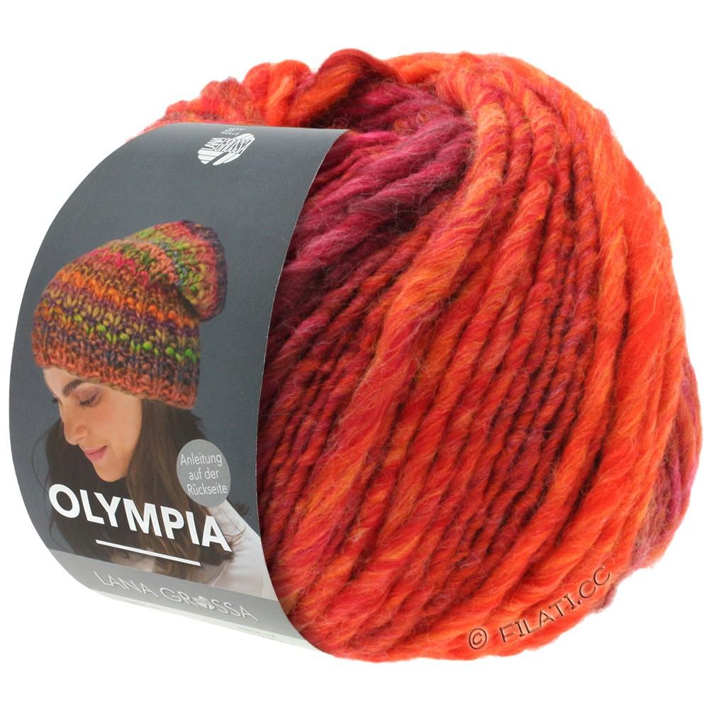 OLYMPIA Classic - von Lana Grossa   070-Rot/Orange/Kirschrot/Weinrot