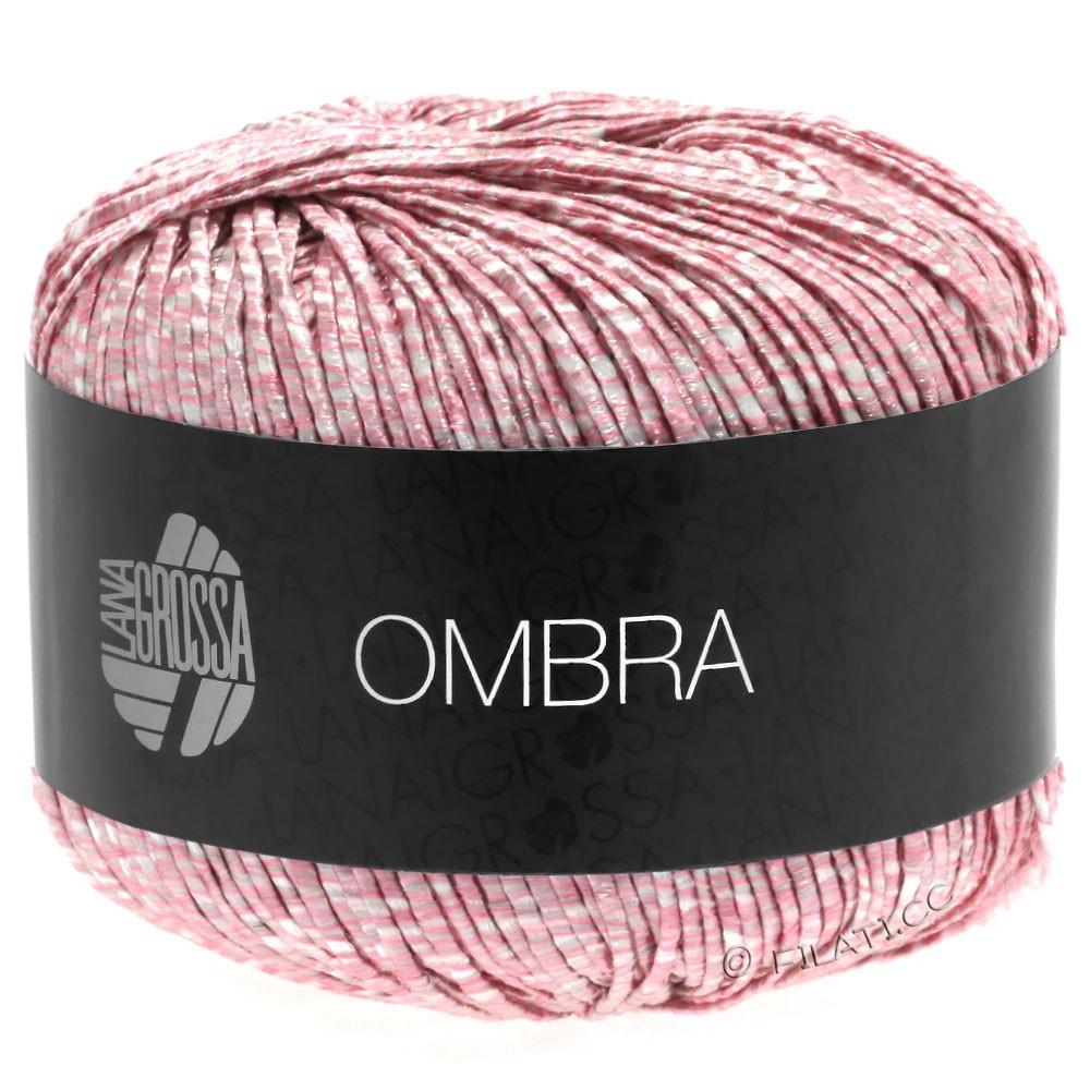 OMBRA - von Lana Grossa | 15-Rosa/Weiß