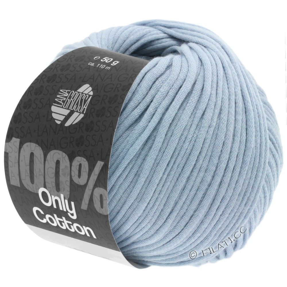 ONLY COTTON - von Lana Grossa | 07-Hellblau