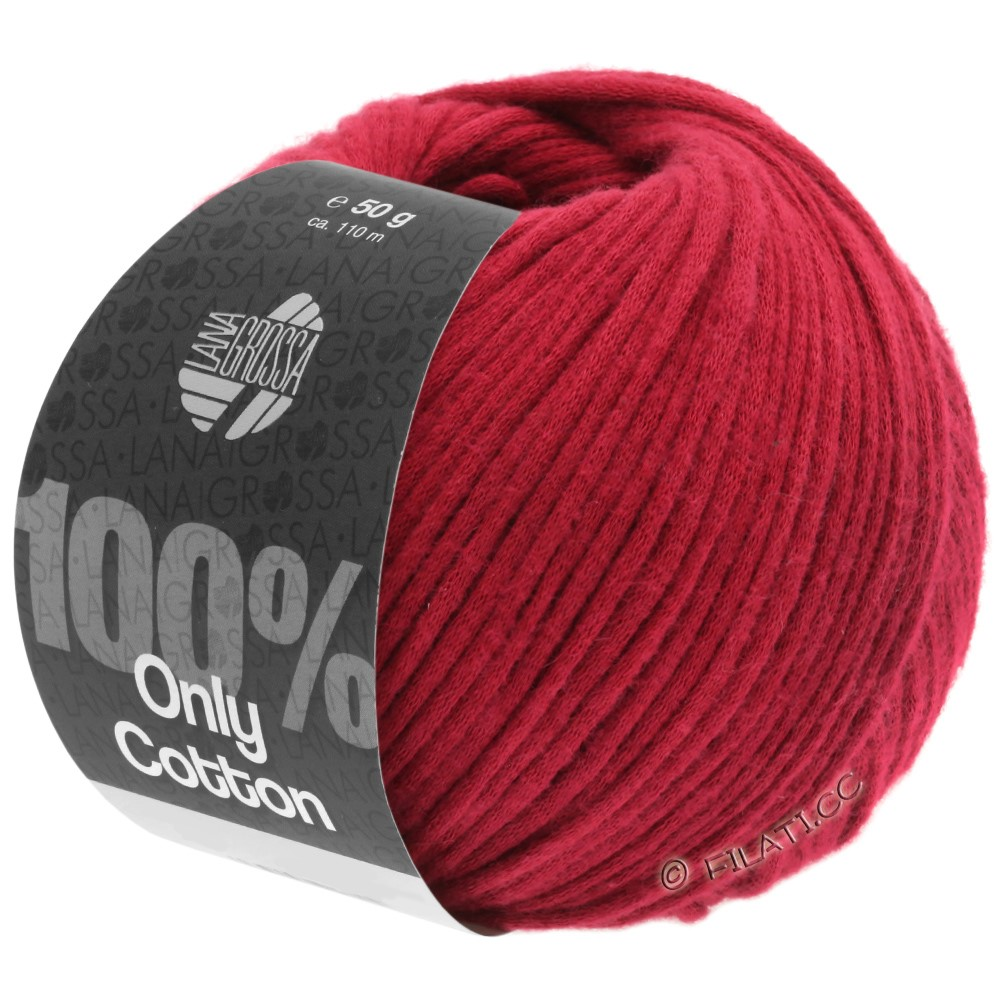 ONLY COTTON - von Lana Grossa | 08-Rot