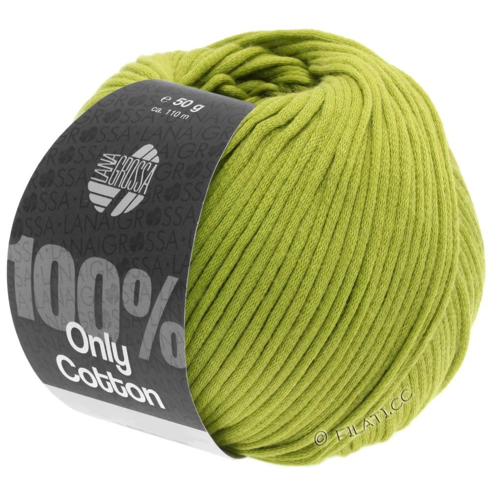 ONLY COTTON - von Lana Grossa | 10-Gelbgrün