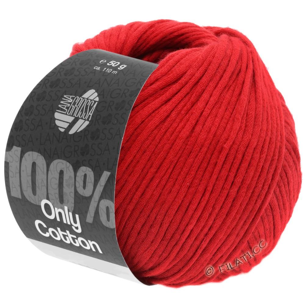 ONLY COTTON - von Lana Grossa | 17-Rot