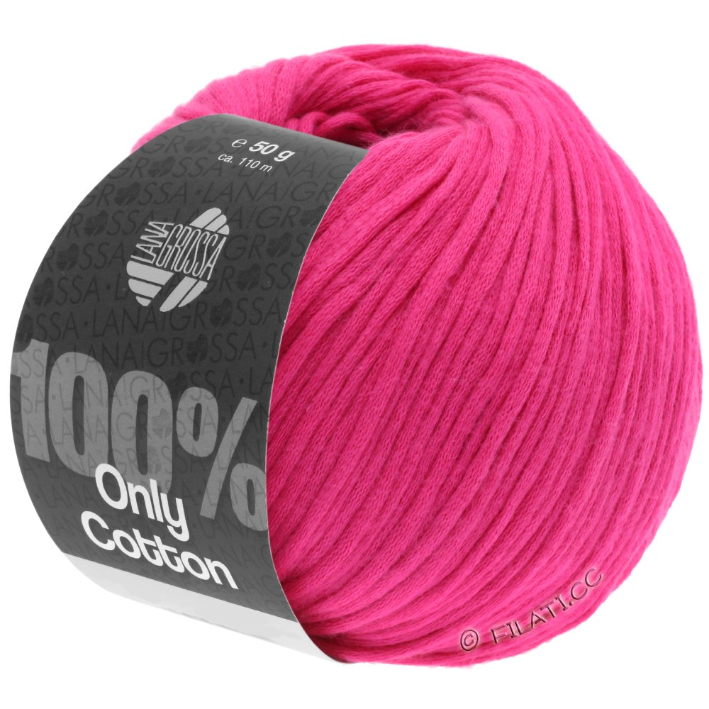 ONLY COTTON - von Lana Grossa | 18-Pink