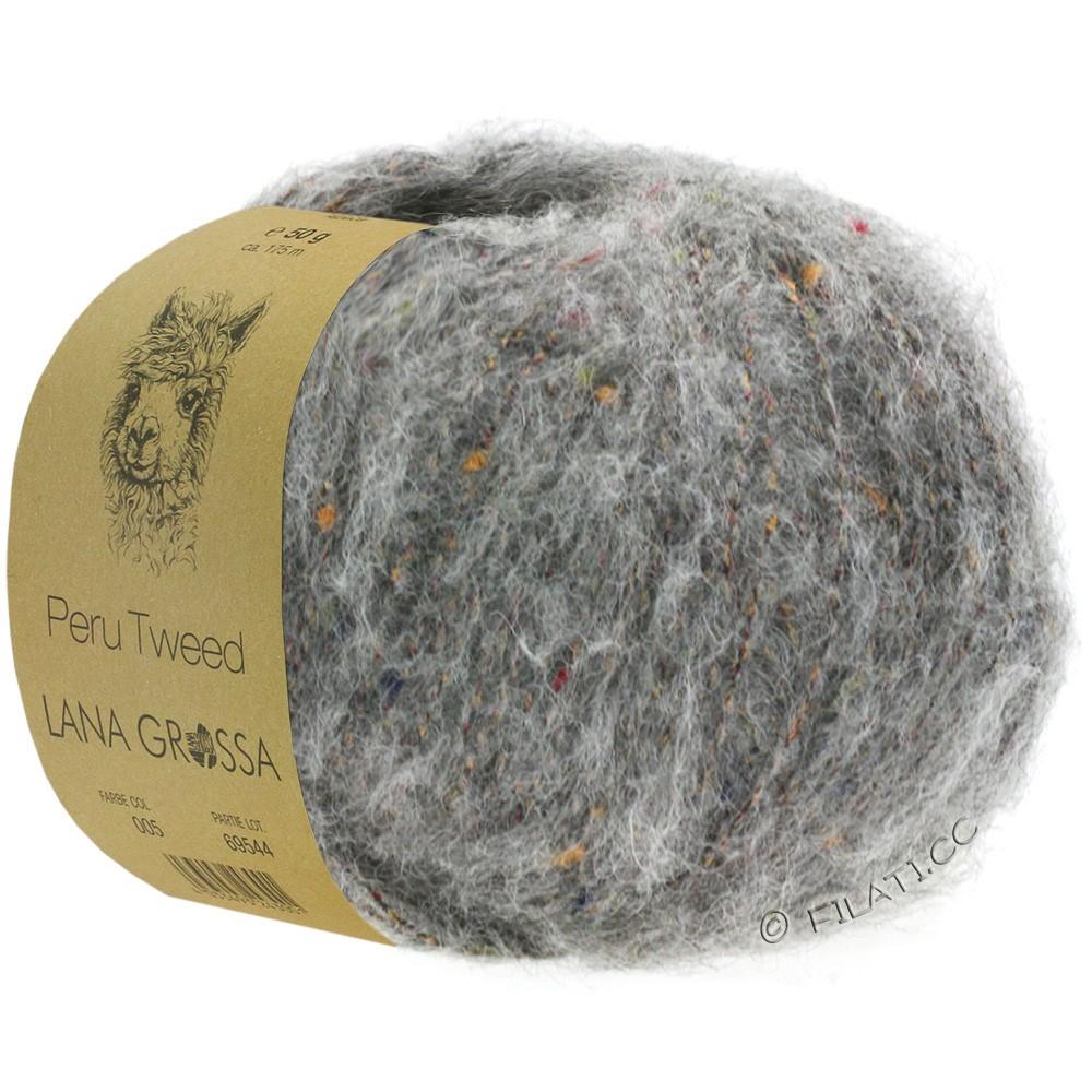 PERU Tweed - von Lana Grossa   04-Grau