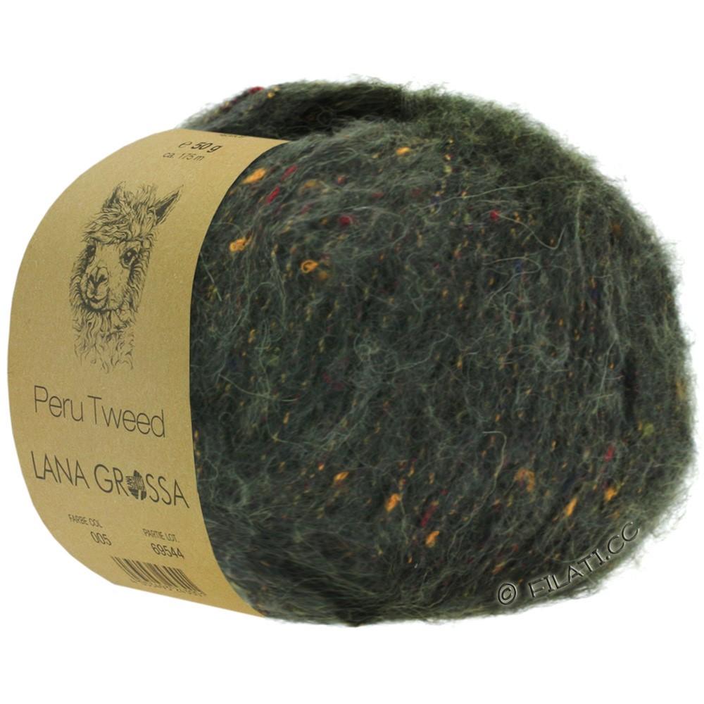 PERU Tweed - von Lana Grossa   05-Loden