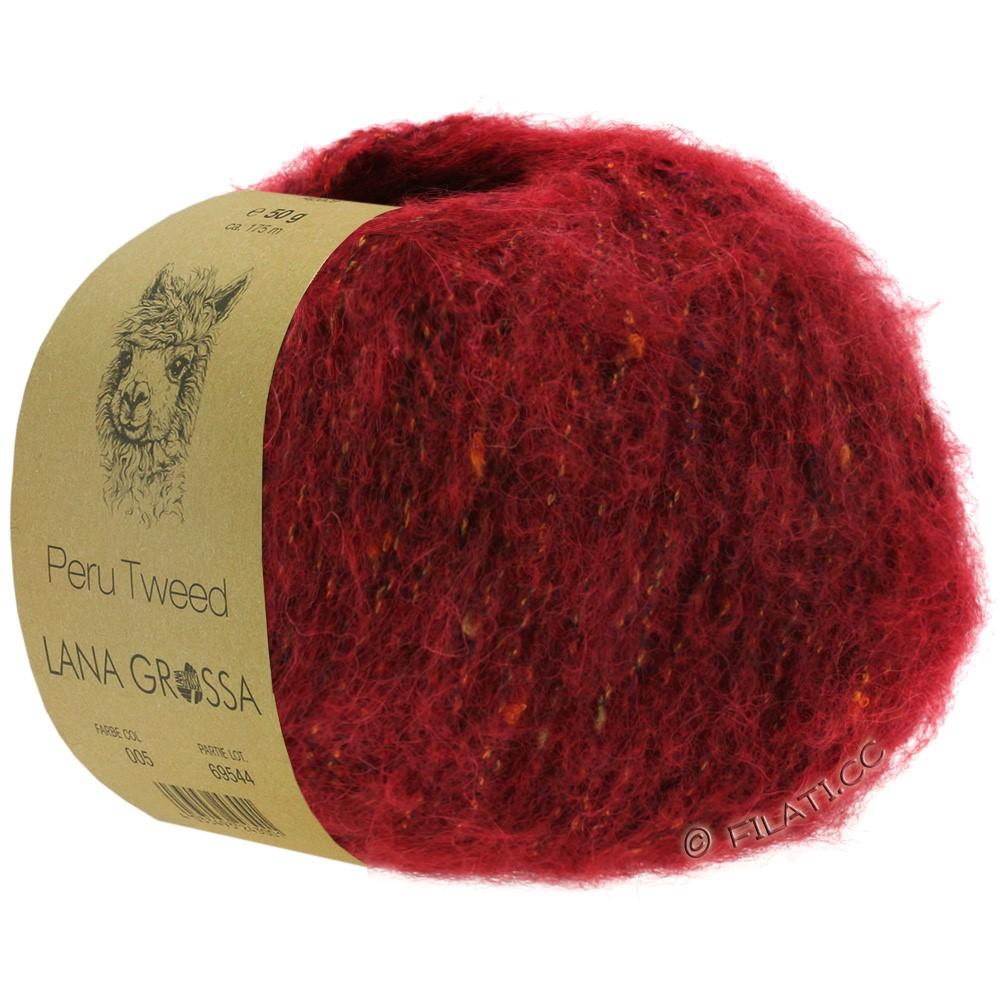 PERU Tweed - von Lana Grossa   11-Ziegelrot