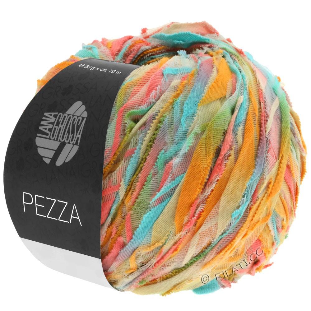 PEZZA - von Lana Grossa | 06-Mint/Lachs/Ocker/Beige