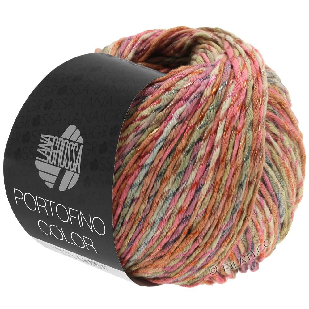PORTOFINO Color - von Lana Grossa | 103-Antikrosa/Sand/Grau/Zimt