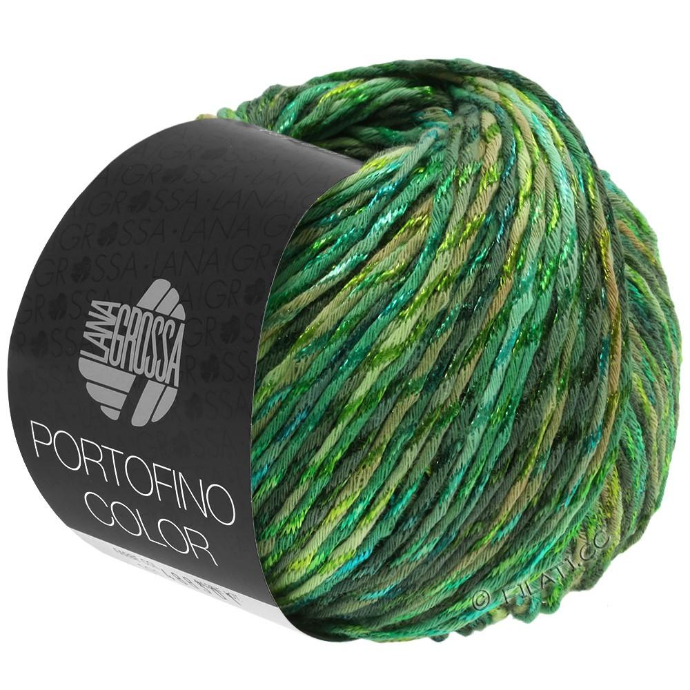 PORTOFINO Color - von Lana Grossa | 105-Schilfgrün/Lindgrün/Grasgrün/Tanne