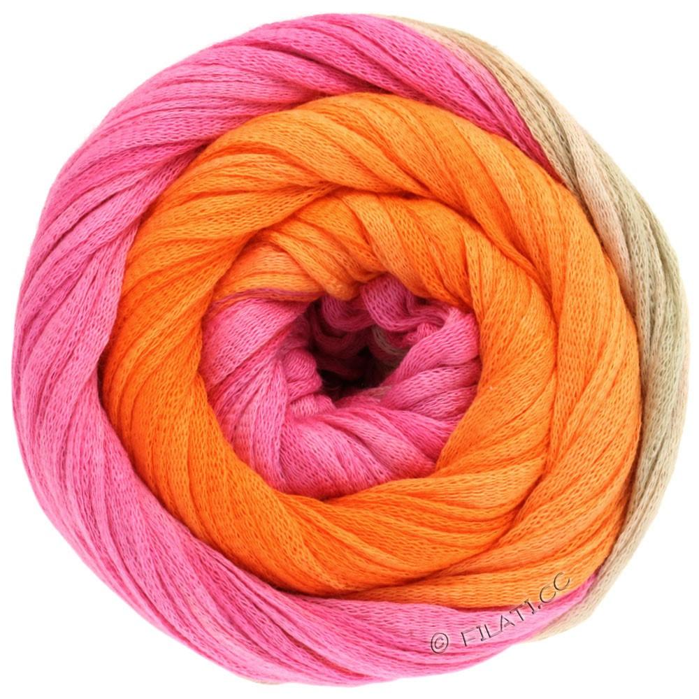 PRIMAVERA - von Lana Grossa | 117-Pink/Perlbeige/Orange