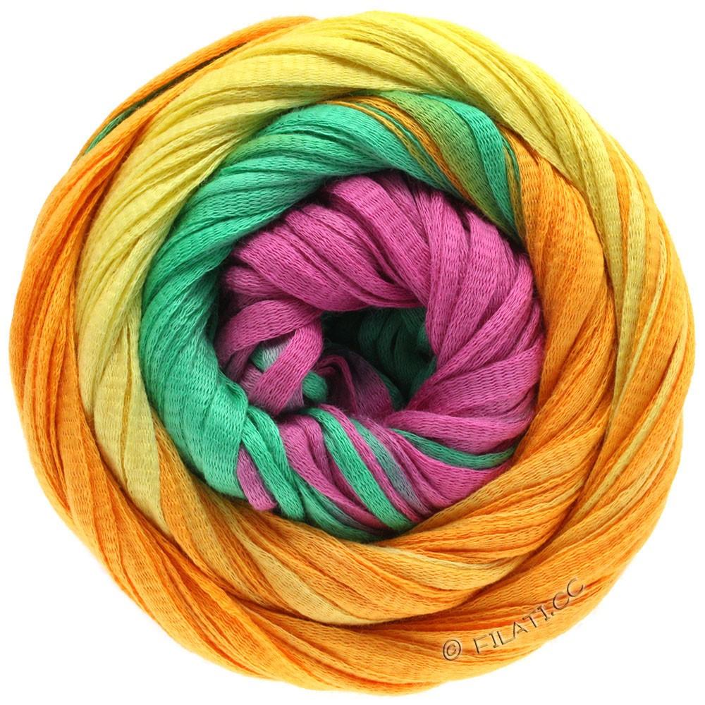 PRIMAVERA - von Lana Grossa | 124-Gelb/Orange/Smaragd/Pink