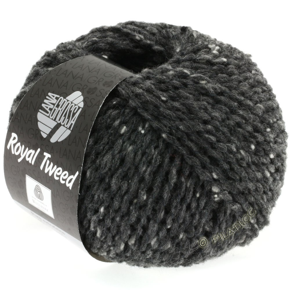 ROYAL TWEED - von Lana Grossa   06-Anthrazit meliert