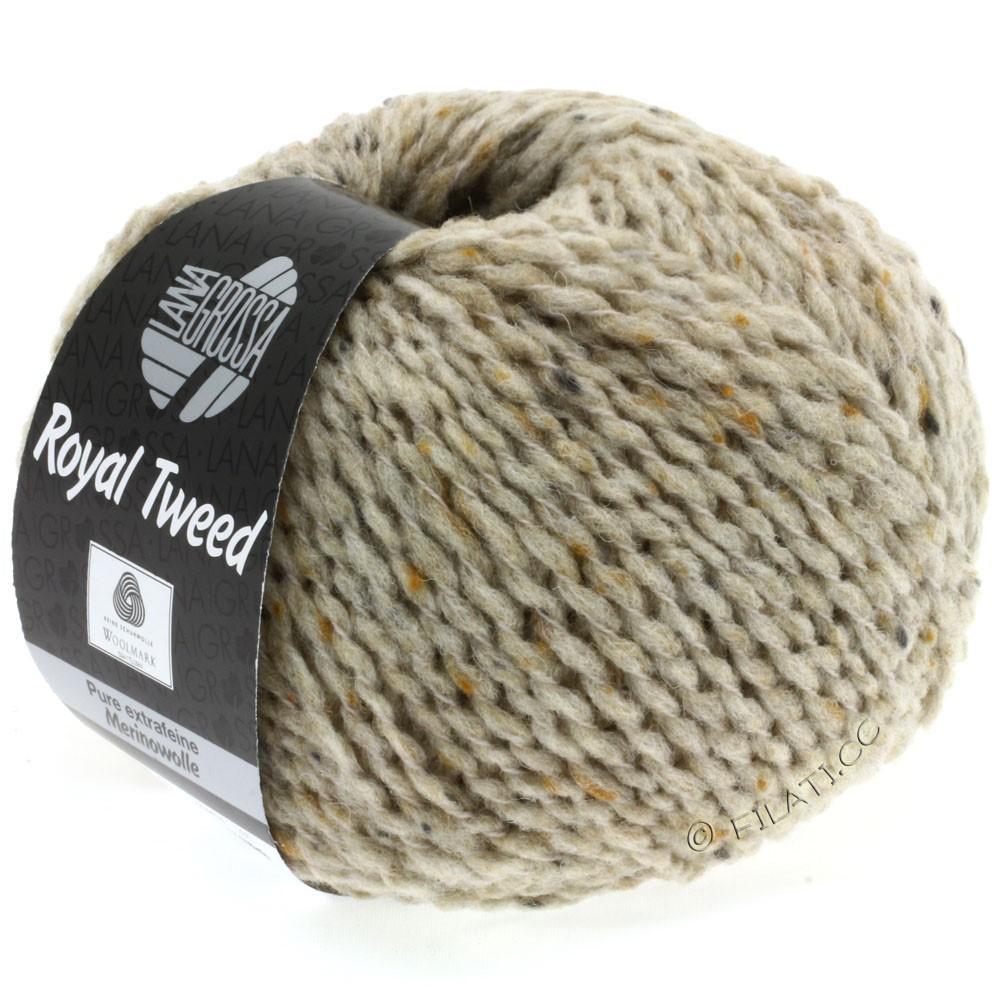 ROYAL TWEED - von Lana Grossa | 08-Hellbeige meliert