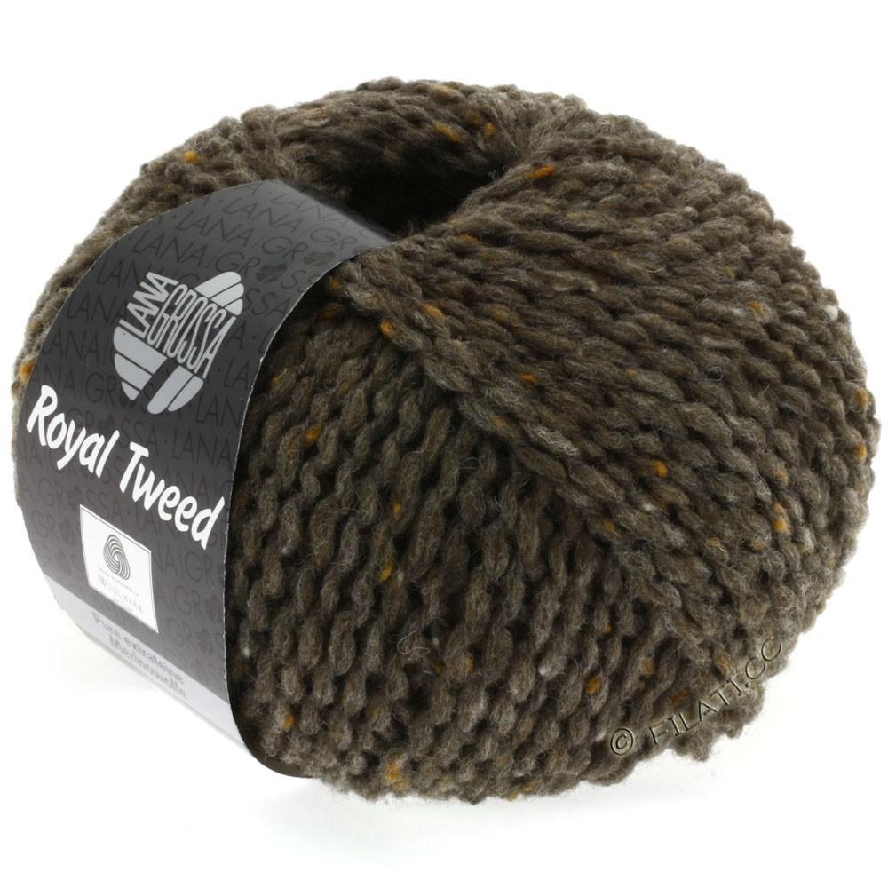 ROYAL TWEED - von Lana Grossa | 12-Graubraun meliert