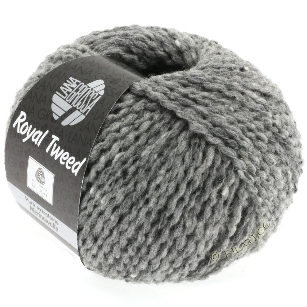 ROYAL TWEED - von Lana Grossa | 14-Grau meliert