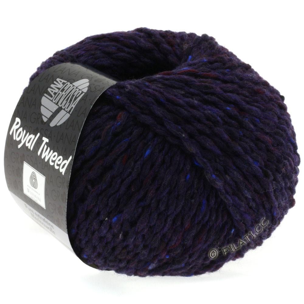 ROYAL TWEED - von Lana Grossa | 67-Nachtblau meliert