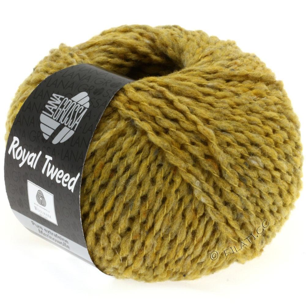 ROYAL TWEED - von Lana Grossa | 73-Senf meliert