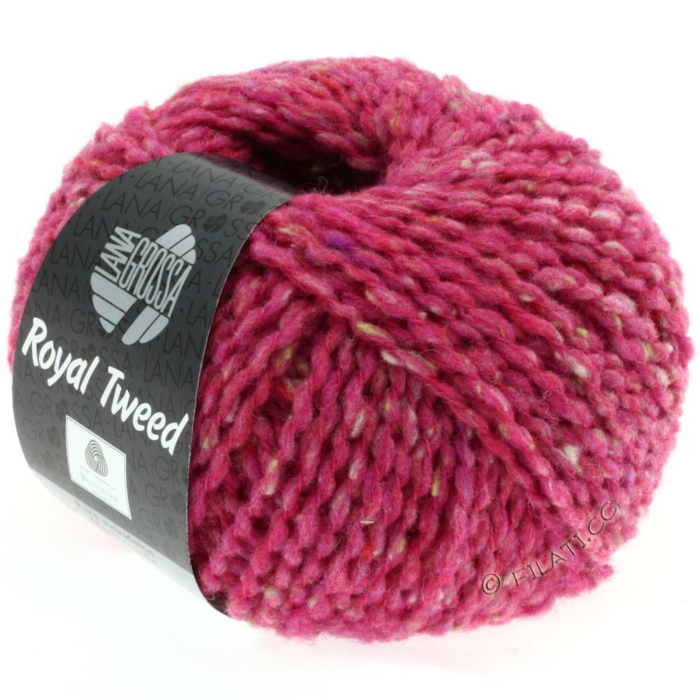 ROYAL TWEED - von Lana Grossa | 74-Pink meliert