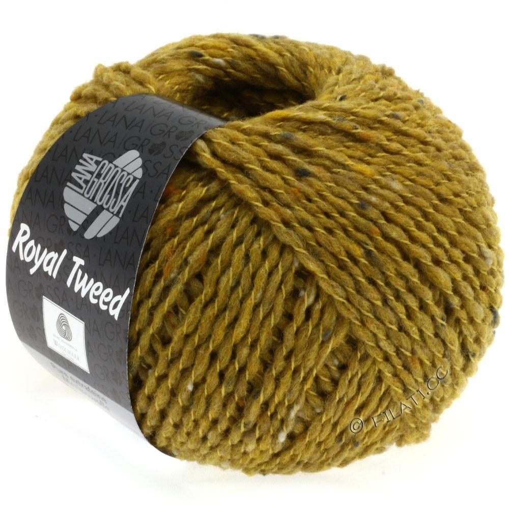ROYAL TWEED - von Lana Grossa | 80-Senf meliert
