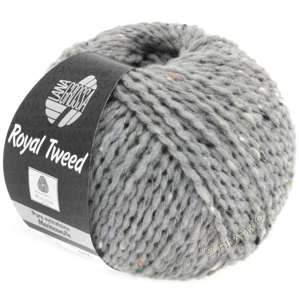 ROYAL TWEED - von Lana Grossa | 82-Hellgrau meliert