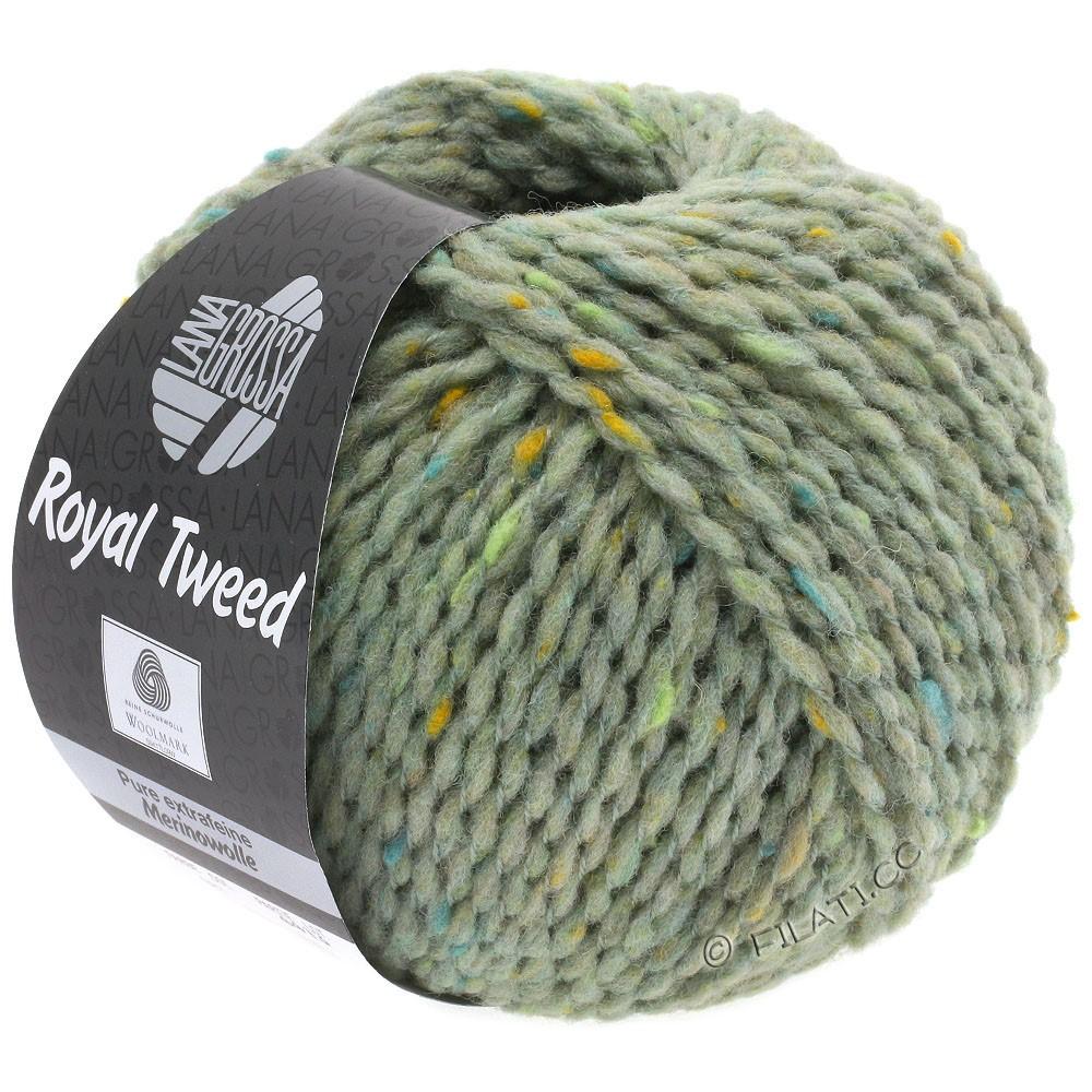 ROYAL TWEED - von Lana Grossa | 83-Mint meliert