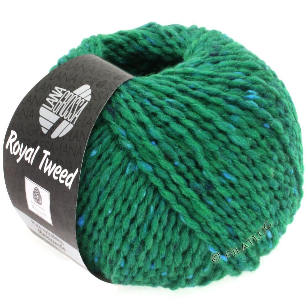 ROYAL TWEED - von Lana Grossa | 85-Smaragd meliert