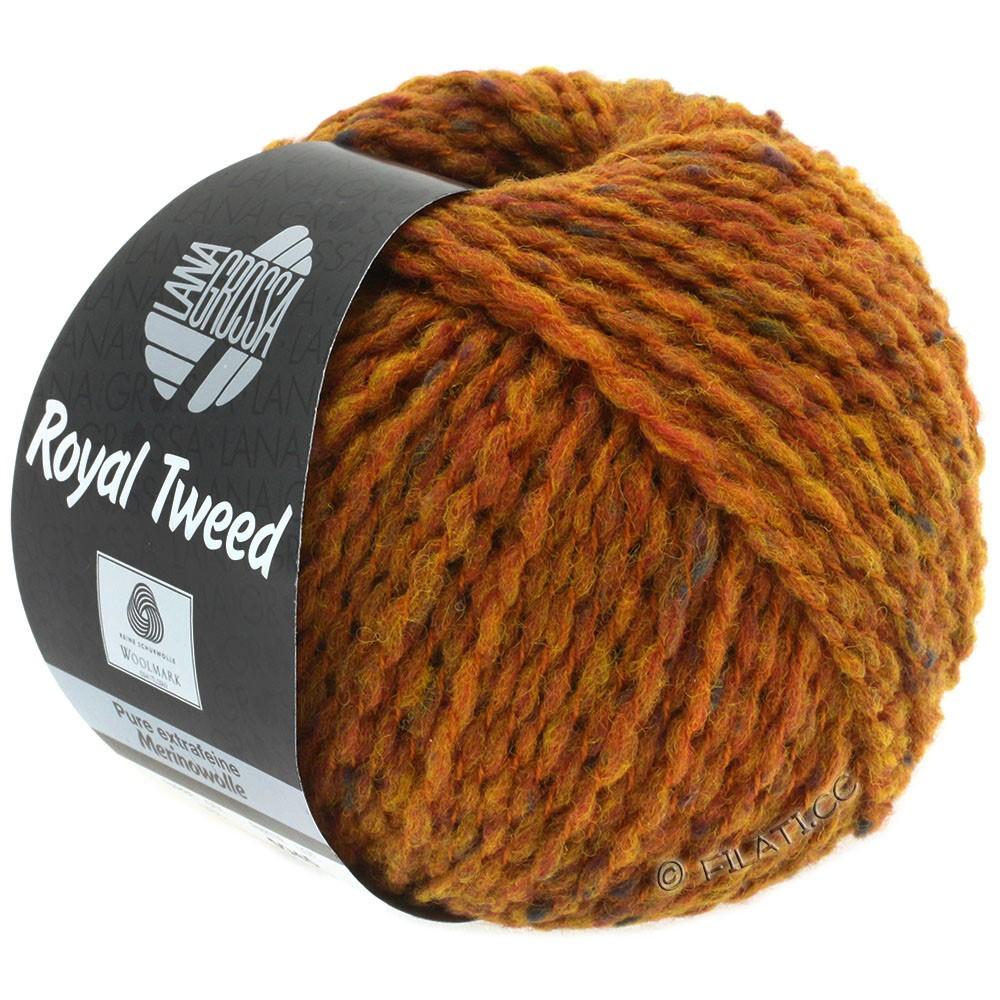 ROYAL TWEED - von Lana Grossa | 86-Goldbraun meliert