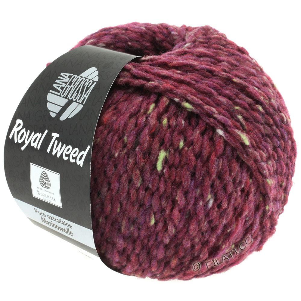 ROYAL TWEED - von Lana Grossa | 87-Bordeaux meliert