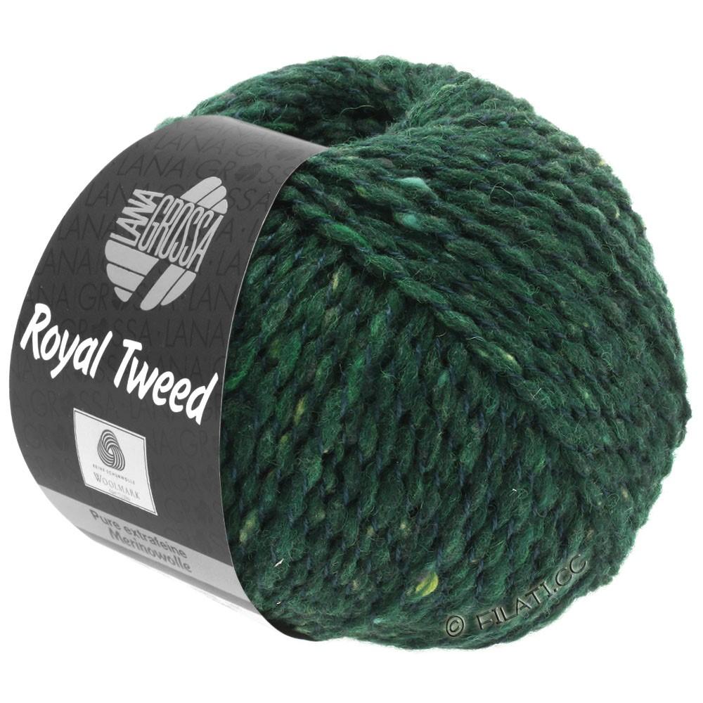ROYAL TWEED - von Lana Grossa | 90-Dunkelgrün meliert