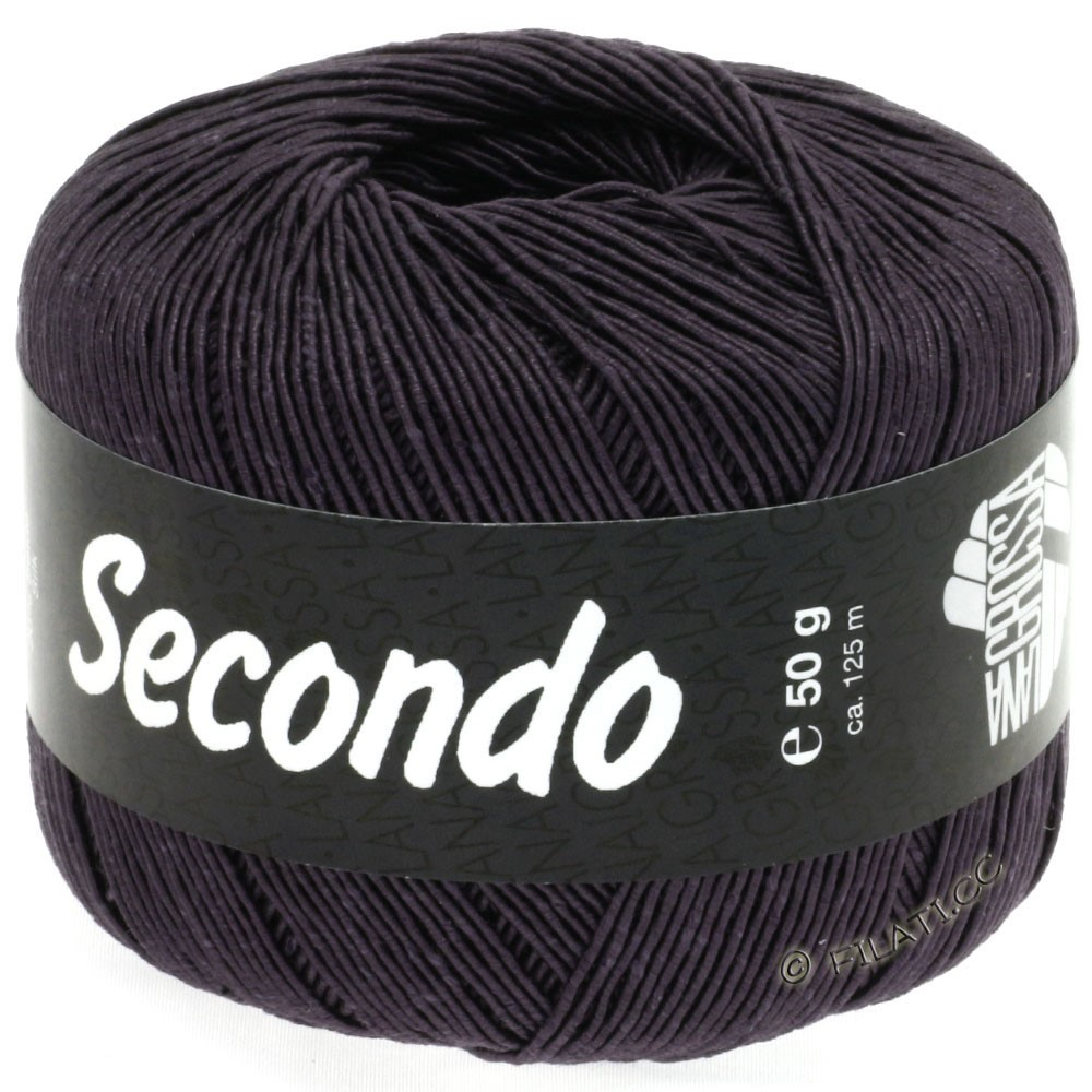SECONDO - von Lana Grossa | 40-Anthrazit