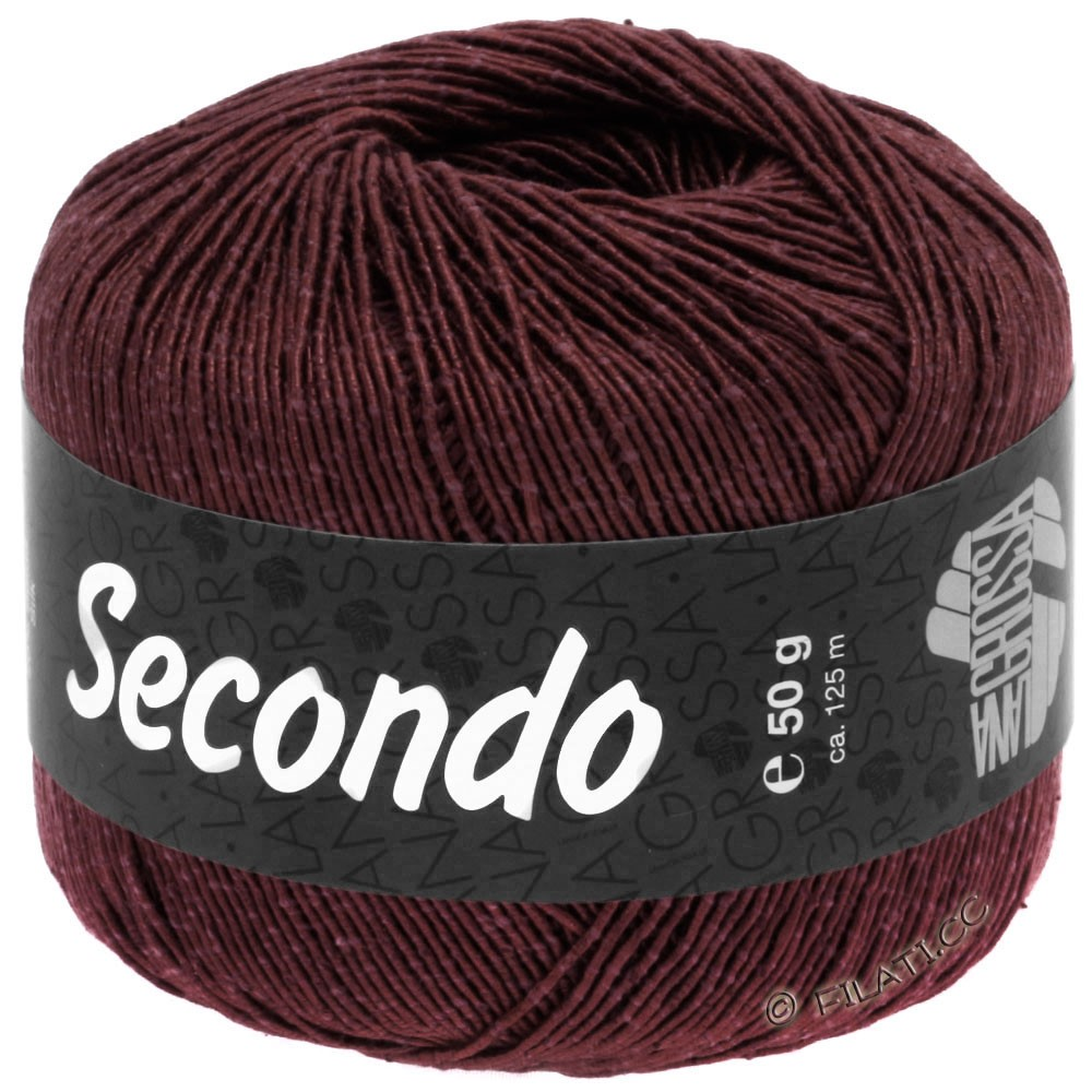 SECONDO - von Lana Grossa | 76-Burgund